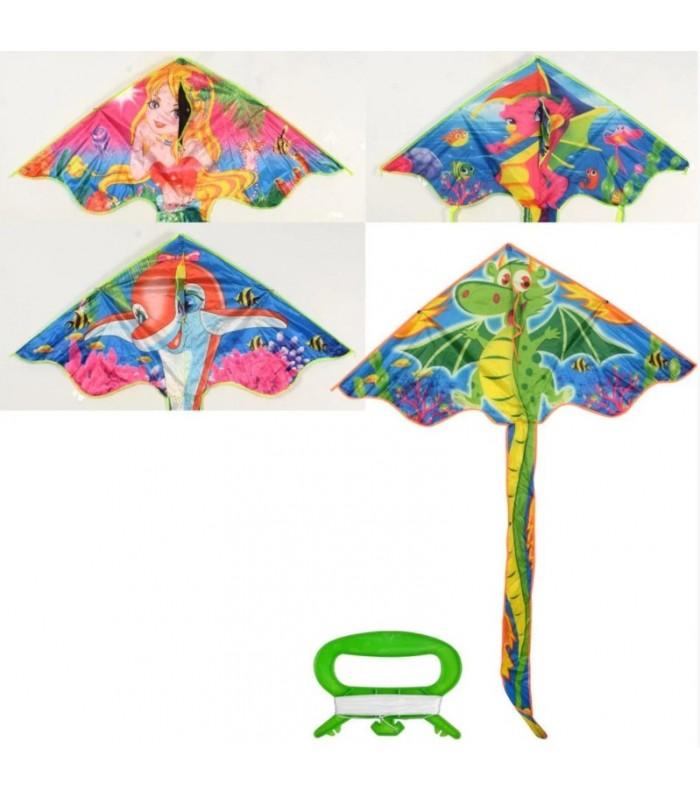 Воздушный змей, ширина 145 см, длина 65 см, MR0439, для детей от 5 лет