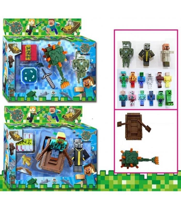 Игровой набор Minecraft фигурки Майнкраф, J17