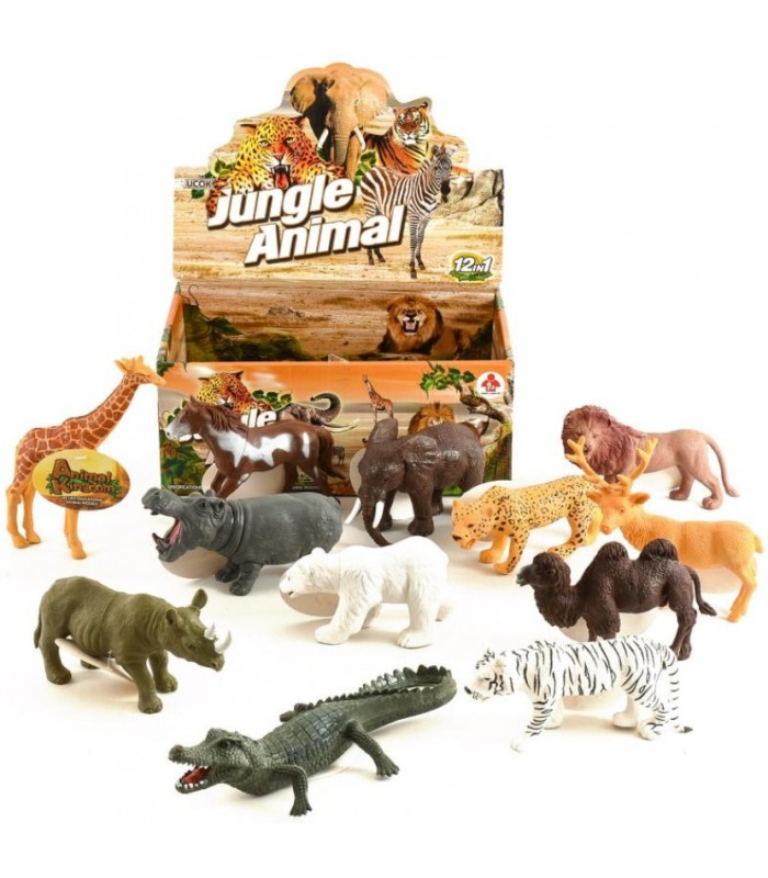 Детская игрушка Фигурка дикого животного Jungle Animal, 12 см, Y588-1