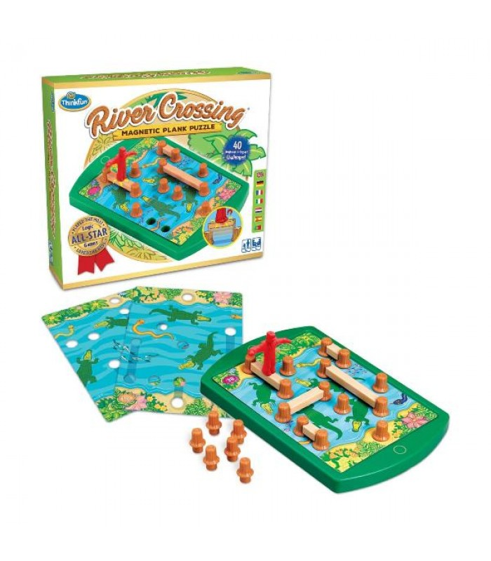 Игра-головоломка Переправа | ThinkFun River Crossing